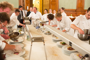 SALON Gala Dinner 2012 - Heinz Winkler & Team