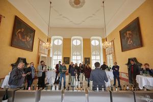 "Weingipfel 2017: Walk Around Tasting ""The Austrian Sekt Revolution presented by Kamptal producers"", Schloss Gobelsburg, Gobelsburg"