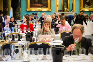 Flightverkostung London, Jancis Robinson