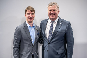 Marc Almert, ASI Best Sommelier of the world mit Chris Yorke, CEO Austrian Wine Marketing Board