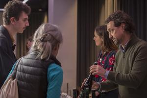 Fachbesucher beim Austrian Tasting London