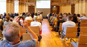 Weingipfel 2019, Palais Niederösterreich, Wien, Austrian Wine Update, Q&A for the press, Speaker: Willi Klinger