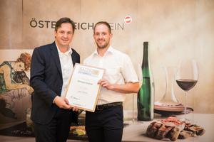 Weingut Kratzer, Präsident des österreichischen Weinbauverbandes NR Hannes Schmuckenschlager