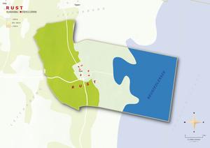 Topografische Karte Rust
