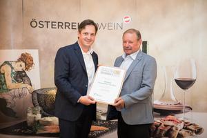Weingut Frauwallner-Straden, Präsident des österreichischen Weinbauverbandes NR Hannes Schmuckenschlager