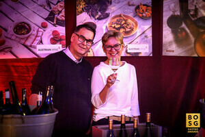 Weingut Sutter bei der Best of Swiss Gastro Award Night