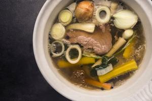 Gekochtes im Suppentopf
