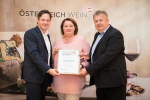 Weingut Weineck Regina & Martin, Präsident des österreichischen Weinbauverbandes NR Hannes Schmuckenschlager