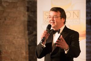 SALON Gala Dinner 2015, Palais Coburg - Geschäftsführer ÖWM Willi Klinger