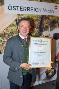 Bacchuspreisträger 2019 Markus Segmüller