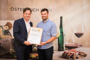 Weingut Kodolitsch, Präsident des österreichischen Weinbauverbandes NR Hannes Schmuckenschlager