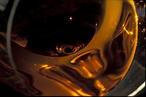 Süßweinglas Nahaufnahme
