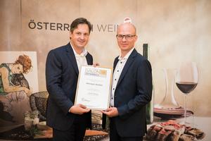 Weingut Stoiber, Präsident des österreichischen Weinbauverbandes NR Hannes Schmuckenschlager