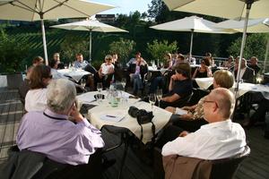 Weingipfel 2011 Steiermark & Thermenregion - Aperitif-Gespräch mit Willi Klinger