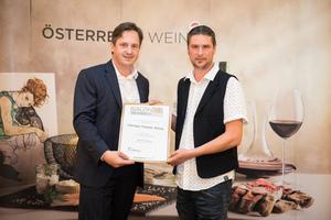 Weingut Tropper Weine, Präsident des österreichischen Weinbauverbandes NR Hannes Schmuckenschlager