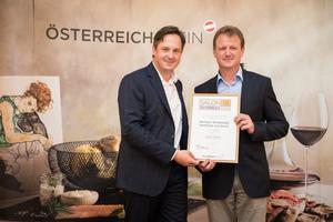 Weingut Eichberger Gotthard und Doris, Präsident des österreichischen Weinbauverbandes NR Hannes Schmuckenschlager