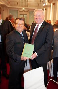 Willi Klinger und Landeshauptmann Steiermark Hermann Schützenhöfer