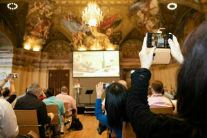 Weingipfel 2019, Conference, Palais Niederösterreich, Wien, Welcome and Introduction, Speaker: Willi Klinger (Managing Director AWMB)