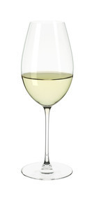 White Wine, young, Riedel, Glass