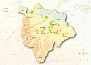Topografische Karte Rosalia