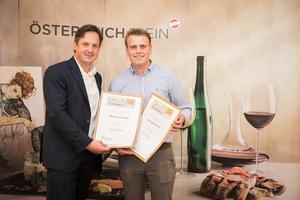 Winzerhof Stift, Präsident des österreichischen Weinbauverbandes NR Hannes Schmuckenschlager