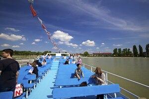 Weingipfel 2011 Burgenland & Carnuntum - Sparkling Boat Trip across Lake Neusiedl