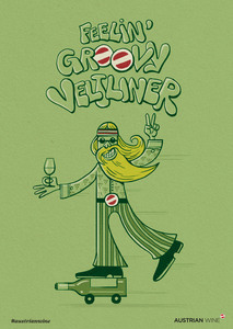 Cartoon/Freecard: Groovy Veltliner