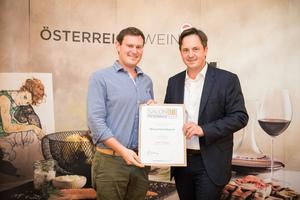 Weingut Rogner, Präsident des österreichischen Weinbauverbandes NR Hannes Schmuckenschlager