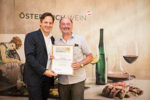 Weingut Franz & Christine Netzl, Präsident des österreichischen Weinbauverbandes NR Hannes Schmuckenschlager