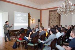 "Weingipfel 2015 - Lecture: ""Rise like a Phoenix"", Presented by: Willi Klinger (Managing Director of AWMB), Schloss Schrattenthal, Retz, Weinviertel"