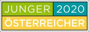 """Logo """"Junger Österreicher 2020"""""""