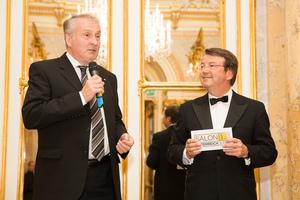 SALON Gala Dinner 2013 - Präsident des österreichischen Weinbauverbandes Josef Pleil, Geschäftsführer ÖWM Willi Klinger