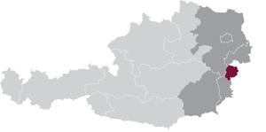 spezifisches Weinbaugebiet Mitelburgenland