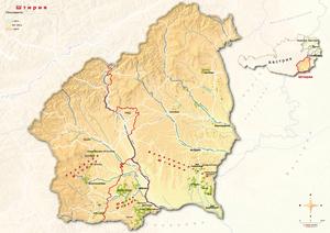 Topografische Karte Steiermark, russisch