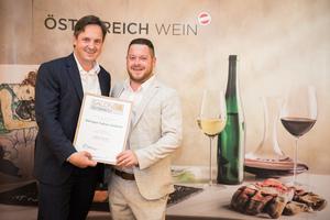 Weingut Fabian Sloboda, Präsident des österreichischen Weinbauverbandes NR Hannes Schmuckenschlager
