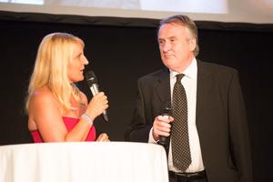 SALON Gala Dinner 2012 - Birgit Perl und Josef Pleil (Präsident des österreichischen Weinbauverbandes)