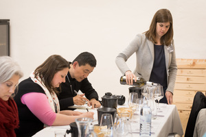 """Weingipfel 2017: In-Depth Tasting Thermenregion """"Zierfandler, Rotgipfler, Pinot Noir and Sankt Laurent""""; Presented by: Bernhard Stadlmann (Wine Grower) and Johannes Reinisch (Wine Grower), Freigut Thallern, Gumpoldskirchen"""