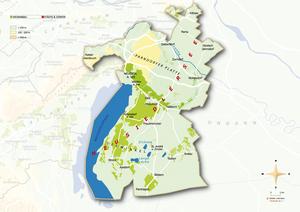 Topografische Karte Neusiedlersee