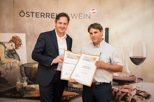 Kapellenhof Familie Fischer, Präsident des österreichischen Weinbauverbandes NR Hannes Schmuckenschlager