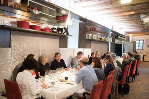 """Weingipfel 2017: Gourmet Dinner with Wine Pairing """"Diversity from the Kremstal, Traisental and Thermenregion"""", Restaurant Late, Krems"""
