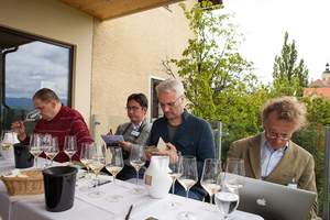 "Weingipfel 2017: Seated Tasting ""Wines from Sausal"" at the wine museum Kitzeck, Presented by: René Kollegger (Sommelier Restaurant T.O.M. R), Steinriegel, Kitzeck"