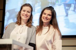 Carmen Augschöll und Karina Horvath (ÖWM): Erfolgreiche Messevorbereitung