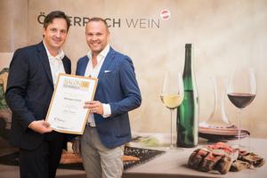 Weingut Christ, Präsident des österreichischen Weinbauverbandes NR Hannes Schmuckenschlager