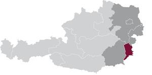 spezifisches Weinbaugebiet Eisenberg