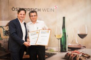 Weingut Gassler, Präsident des österreichischen Weinbauverbandes NR Hannes Schmuckenschlager
