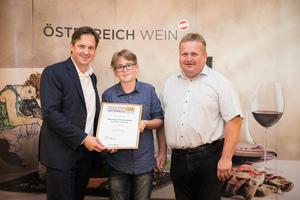 Weingut Kranixfeld Familie Fischer, Präsident des österreichischen Weinbauverbandes NR Hannes Schmuckenschlager