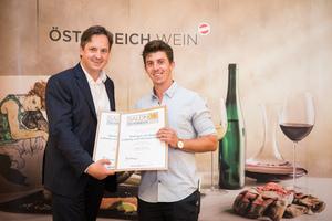 Weingut am Berg Ludwig und Michael Gruber, Präsident des österreichischen Weinbauverbandes NR Hannes Schmuckenschlager