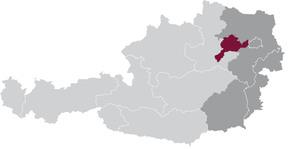 spezifisches Weinbaugebiet Traisental