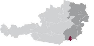 spezifisches Weinbaugebiet Südsteiermark