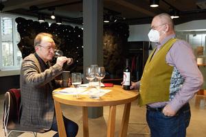 f.l.t.r. Ivan Barbic MW and Hans Georg Babits